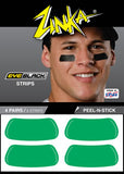 Eyeblack Strips (Green)