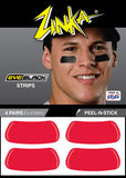 Eyeblack Strips (Red)
