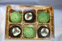 Load image into Gallery viewer, Chocolate Christmas Puddings & Orange Truffle Brussel Sprouts