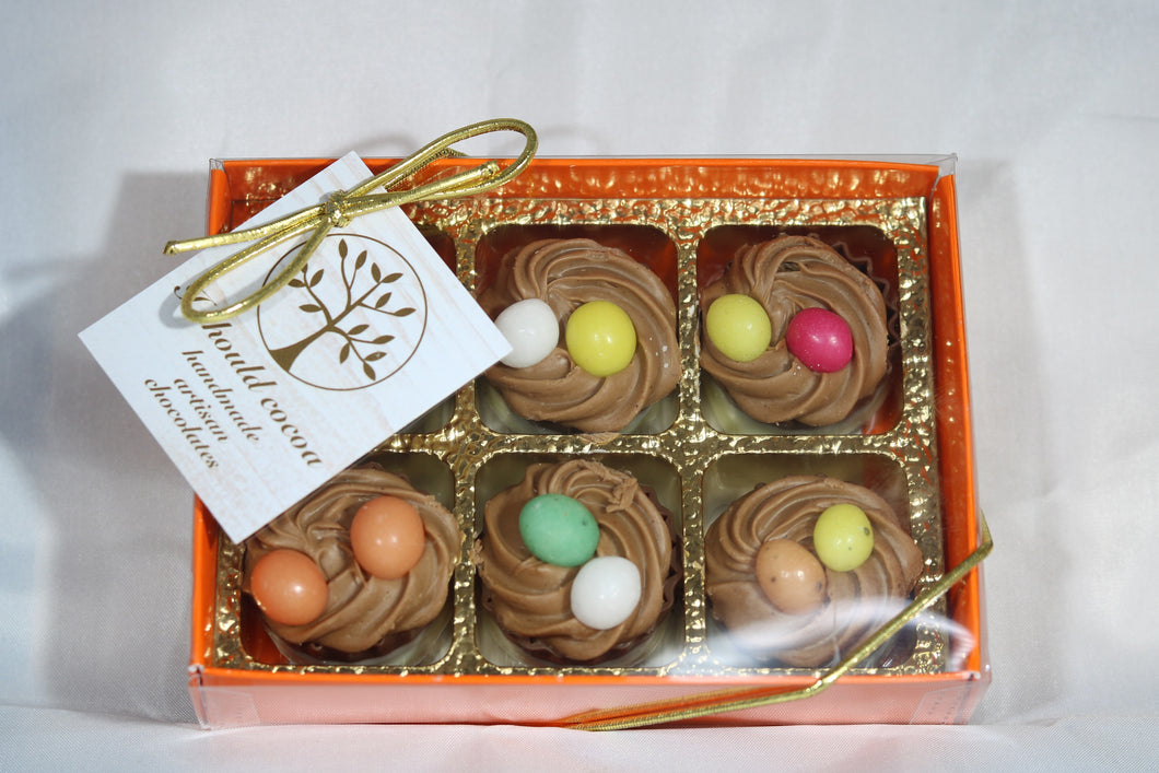Gianduja Nests