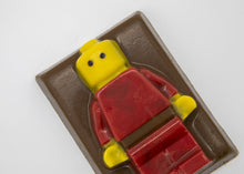 Load image into Gallery viewer, Milk Chocolate Lego Man