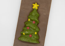 Load image into Gallery viewer, Milk Chocolate Christmas Tree Bar