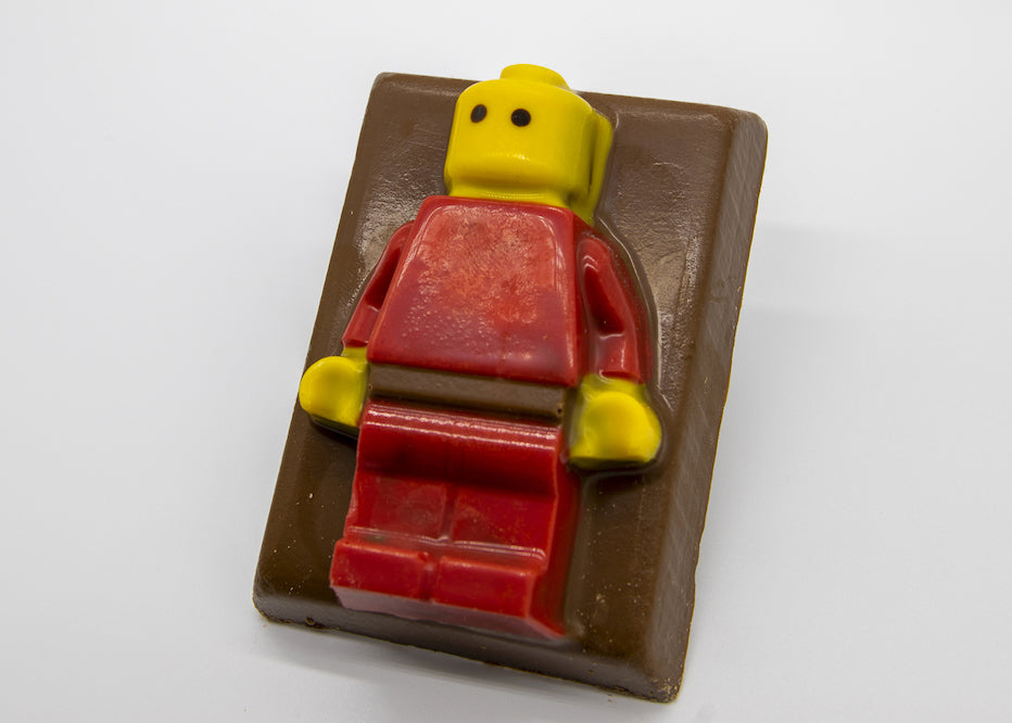Milk Chocolate Lego Man