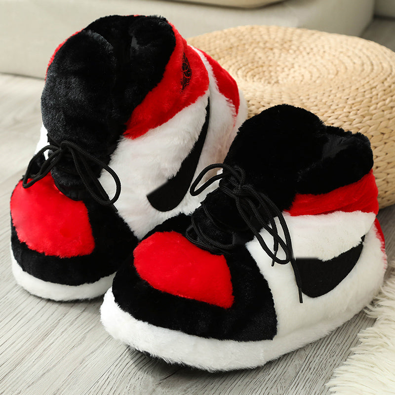 Unisex Comfy Winter Sneakers Slippers Yeezy Jordan