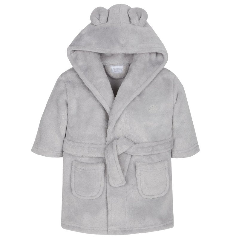 Super Soft Grey Dressing Gown