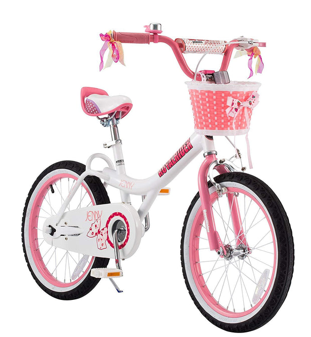Royalbaby Jenny Princess Girls Kids Bike 12 14 16 18 20 Inch,White Pink