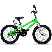 Royalbaby BMX Freestyle Kids Bike for Boys and Girls, Dual Hand Brakes, 12 14 16 18 inch,Green