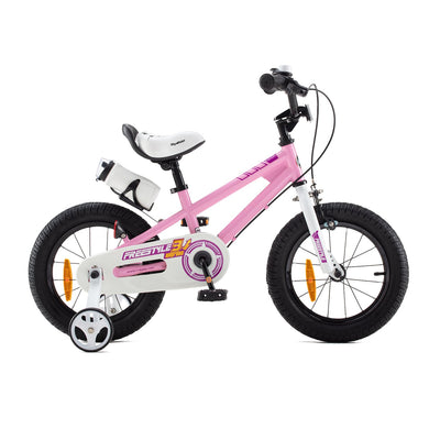 Royalbaby BMX Freestyle Kids Bike for Boys and Girls, Dual Hand Brakes, 12 14 16 18 inch, Pink