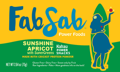 KAHAU Power Snacks: Apricot Sunshine with Supergreens