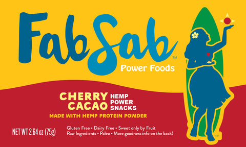 HEMP Power Snacks: Cherry Cacao