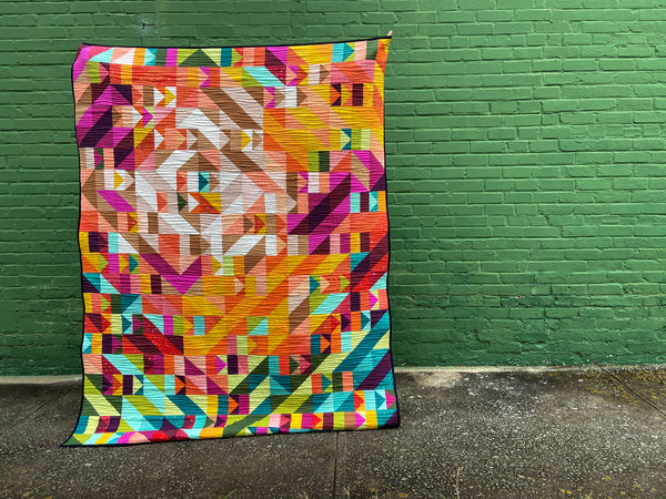 All the Good Quilt  - A Controlled Improv Quilt Pattern