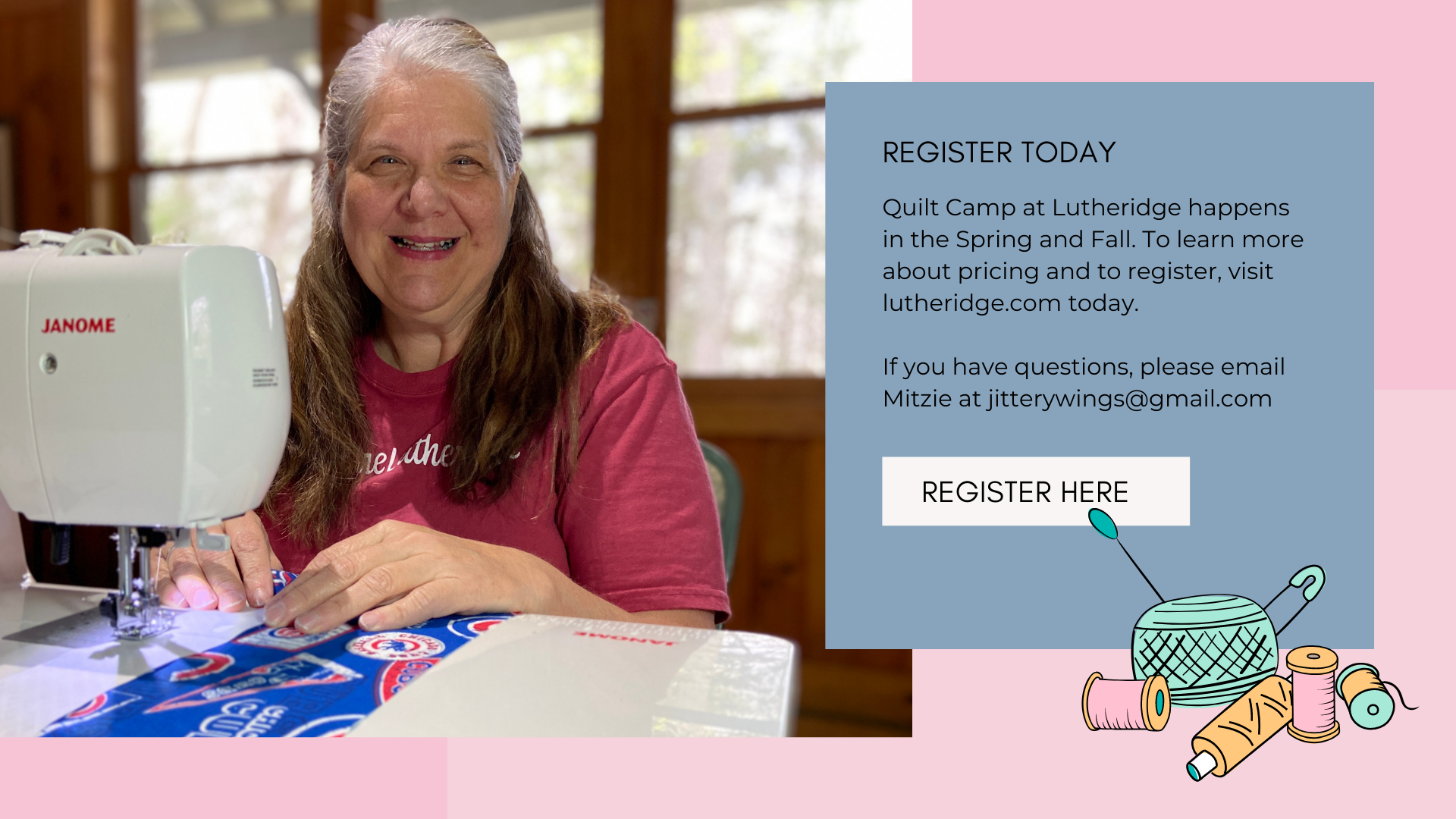 quilt camp at lutheridge, learn more about quilt camp at lutheridge