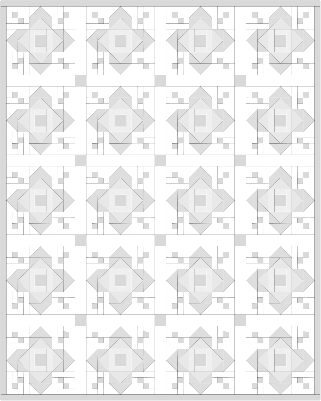 renew quilt pattern coloring page