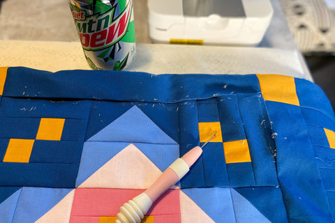 quilt mistake repair quilt tips for correcting a mistake in a quilt top by Jittery wings renew quilt top #jitterywings #fabricshop #quiltshop #quiltpattern #quiltrepair