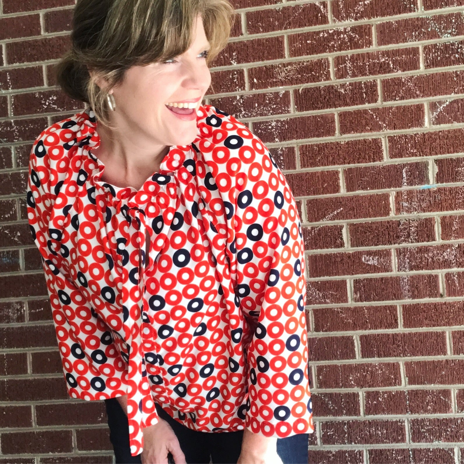 about mitzie schafer from jittery wings quilt co