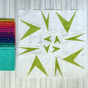 learn to paper piece sparrow quilt pattern