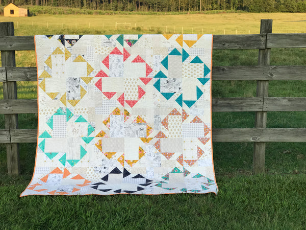 Flock Together Quilt Pattern PDF Download
