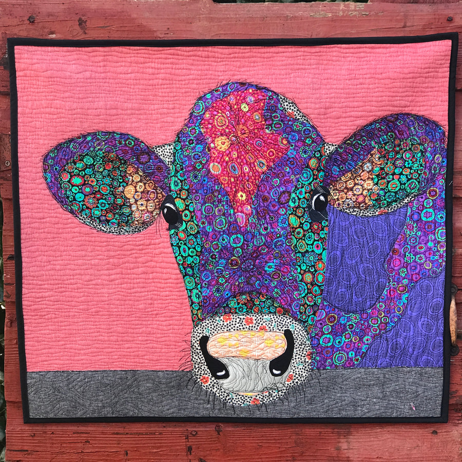 Painted Cow PDF Download Quilt Pattern