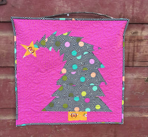 crooked christmas tree quilt pattern