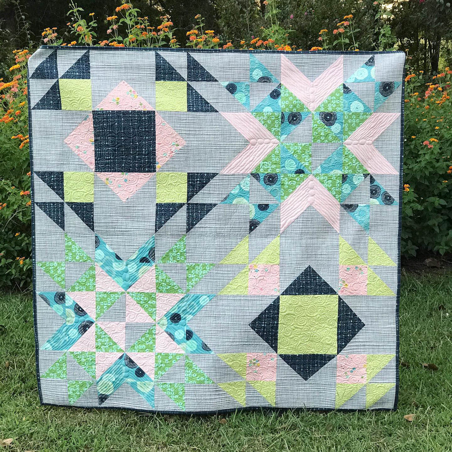 Wyoming Wind PDF Download Quilt Pattern