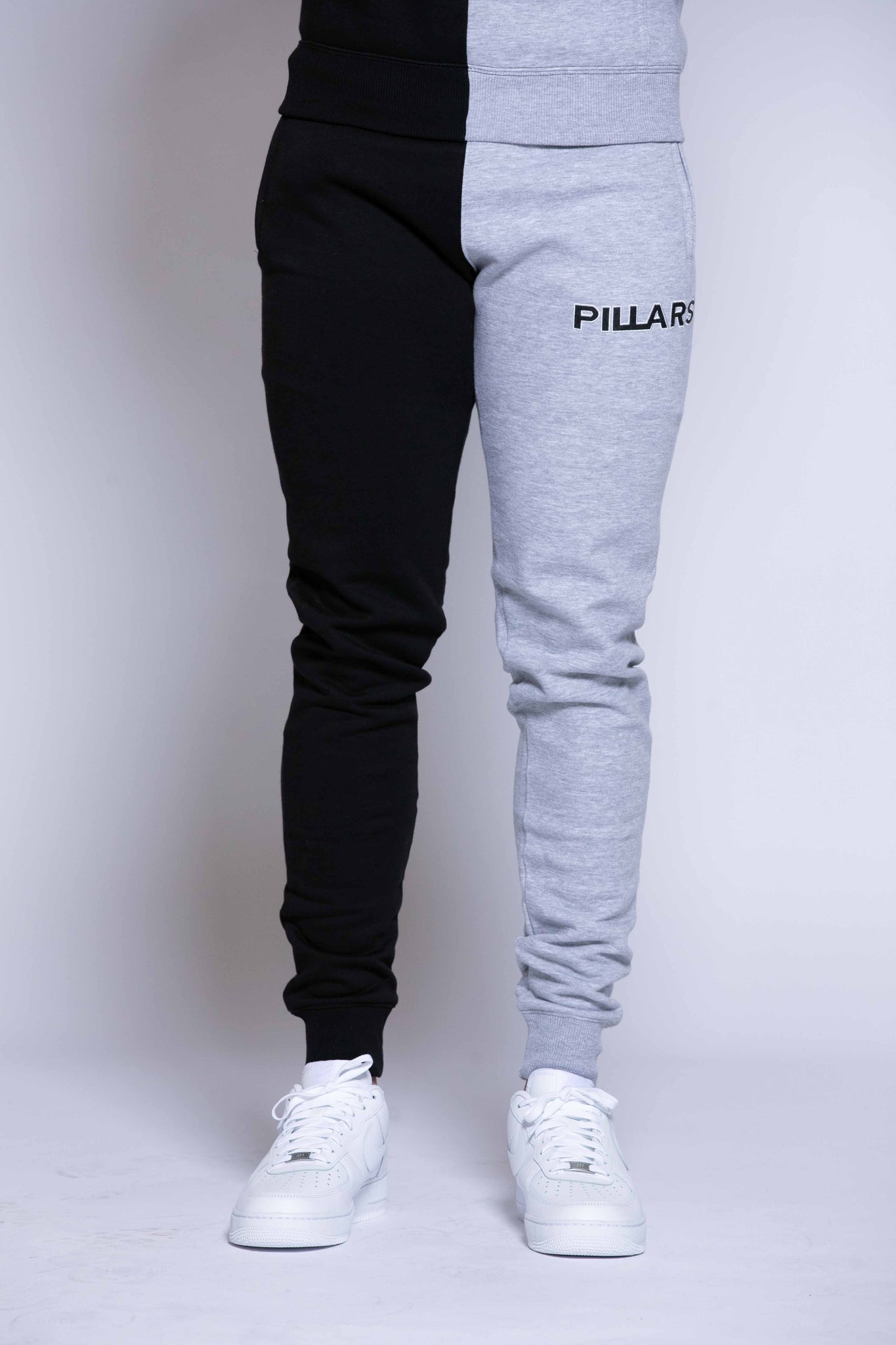 HALF & HALF PANT | BLACK/GREY (MENS)