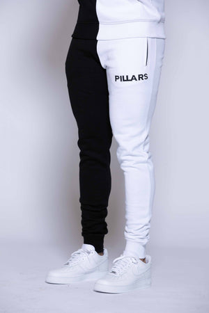 HALF & HALF PANT | BLACK/WHITE (MENS)