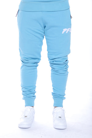 CLUB LOGO CHENILLE PANT | AIR BLUE/WHITE