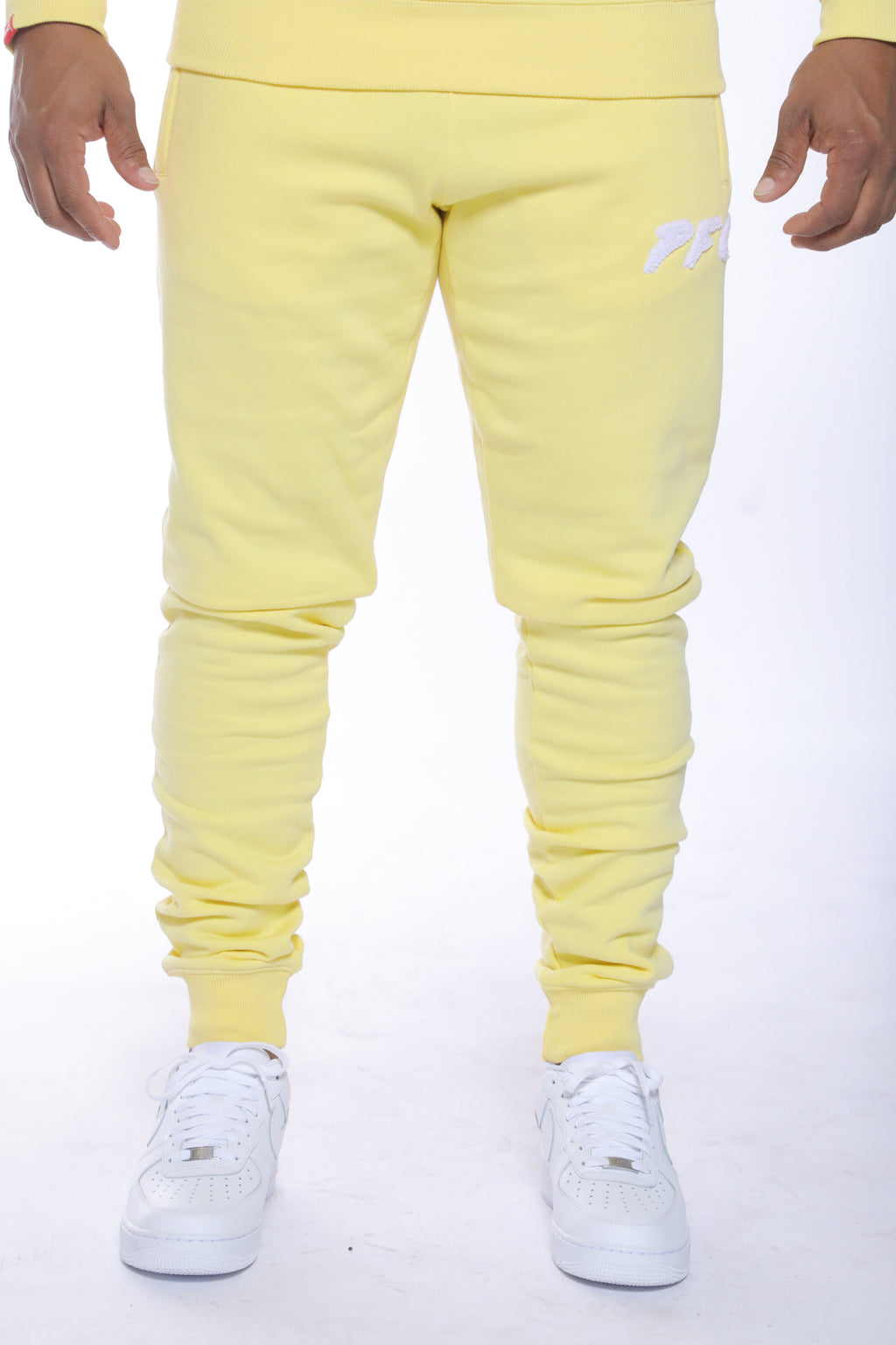 CLUB LOGO CHENILLE PANT | LEMONADE/WHITE