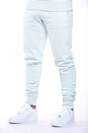 EMBOSSED LOGO PANT | HUSHED GREEN