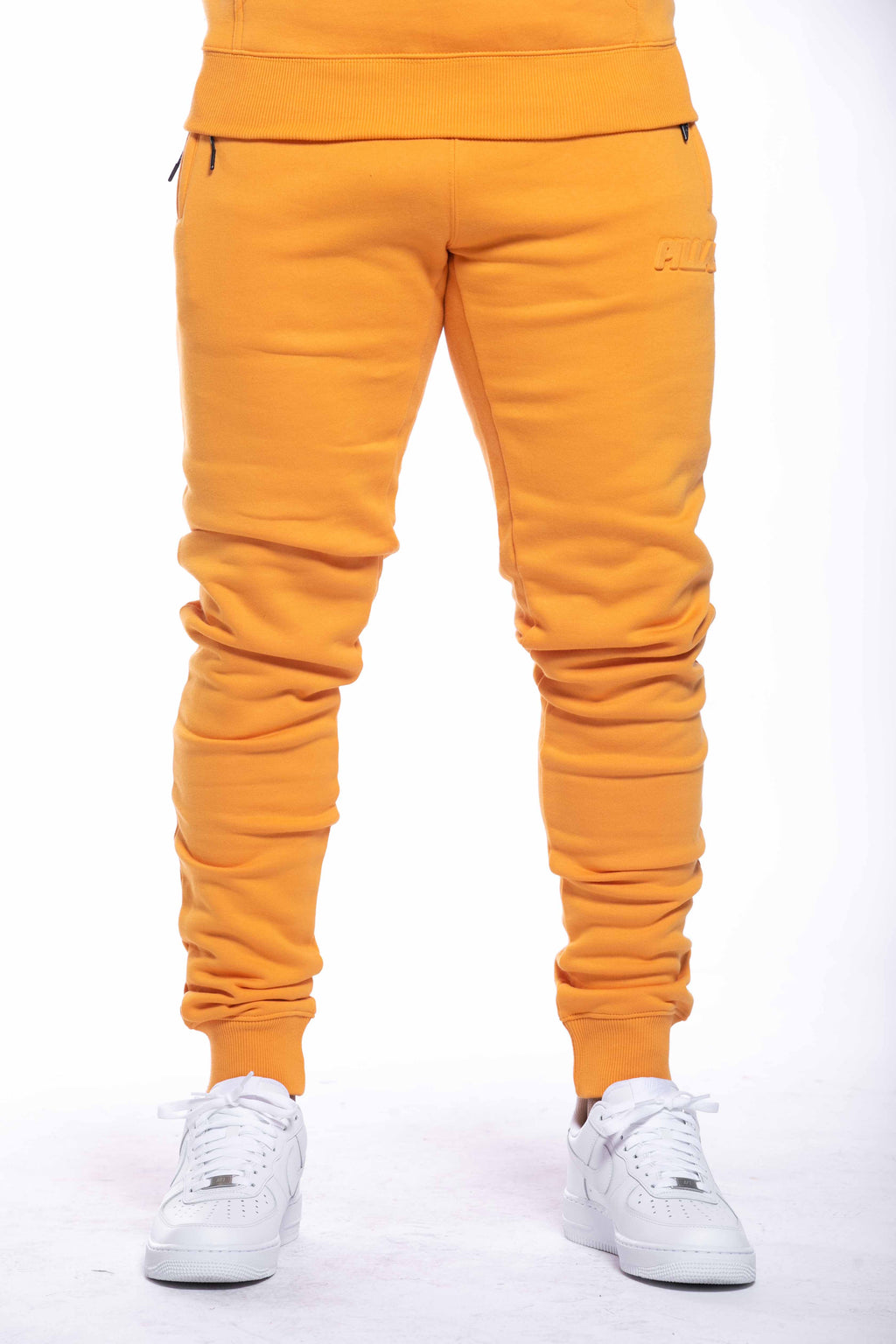 EMBOSSED LOGO PANT | KUMQUAT