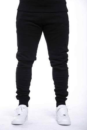 EMBOSSED LOGO PANT | BLACK