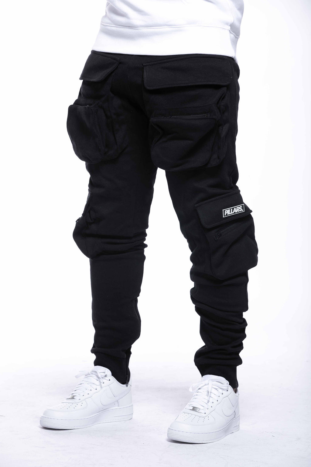 UTILITY POCKET PANT | BLACK