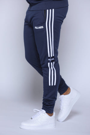 TRACK PANTS | NAVY/WHITE