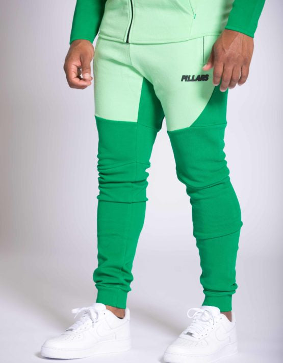 LIGHTWEIGHT TECH PANTS | GREEN ASH