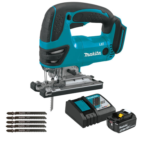 Makita 18V LXT Lithium-Ion Cordless Jig Saw Set
