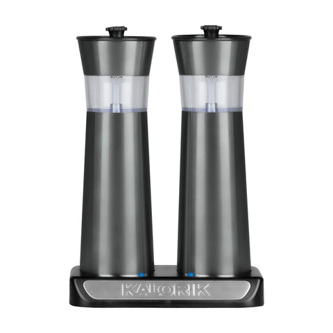 Kalorik Rechargeable Gravity Salt & Peppermill Set
