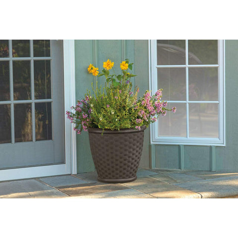 "Suncast 18"" Planter/Calypso Set of 2"