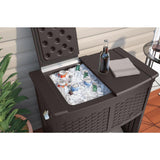 Suncast Entertaining Cooler Station