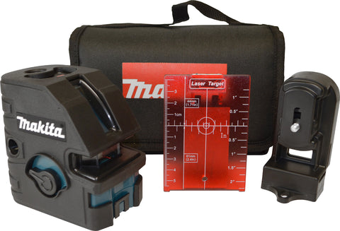 Makita Self-Leveling Combination Cross-Line/Point Laser