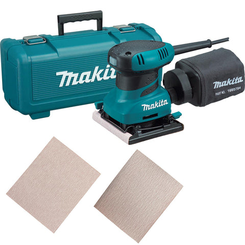 Makita Palm Finishing Sander Set