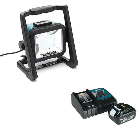 Makita 18V LXT® Lithium-Ion Cordless/Corded L.E.D. Flood Light Set