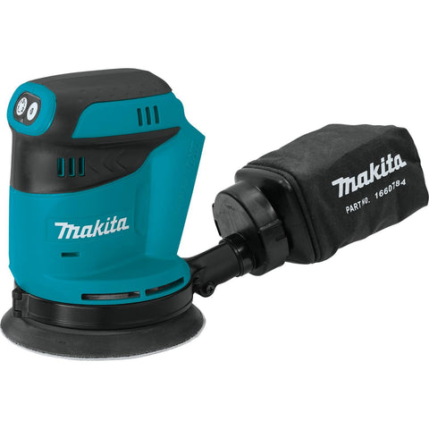 "Makita 18V LXT® Lithium-Ion Cordless 5"" Random Orbit Sander, Tool Only"