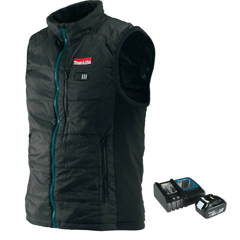 Makita 18V LXT® Lithium-Ion Cordless Heated Vest & Battery