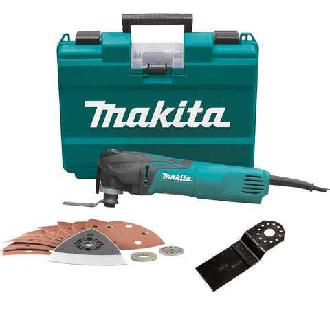 Makita Multi Tool with Tool-less Blade Change Set
