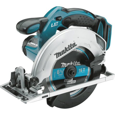 "Makita 18V LXT® Lithium-Ion Cordless 6-1/2"" Circular Saw, Tool Only"