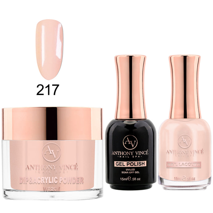 Trio #217 - #234 Nude Collection