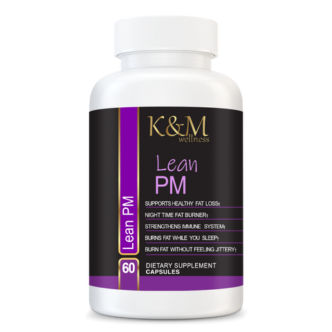 Lean PM - non stimulating-Aids in a restful sleep while burning fat. - K&M Wellness Weight Loss