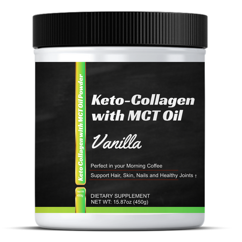 Keto Collagen with MCT Oil - K&M Wellness Sports Nutrition