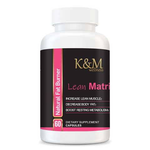 Lean Matrix - Fat Burner - Potent thermogenic. Supports healthy fat loss. Increases energy. - K&M Wellness Weight Loss
