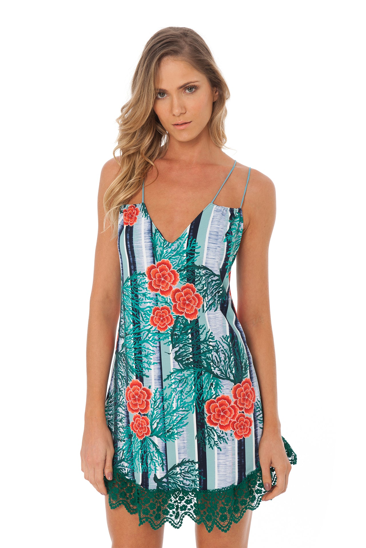String Tunic - Coral Reef